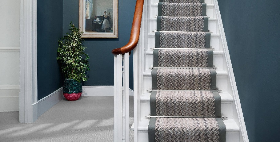 carpets on stairs